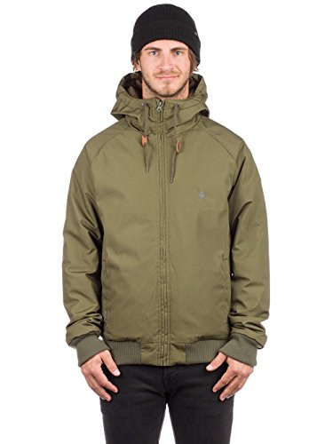 Military Volcom Heavy Jacket Weight Hooded Men's Hernan BwUwgF