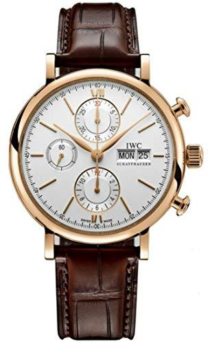 IWC Rose Gold Portofino Chronograph Day Date Calendar,