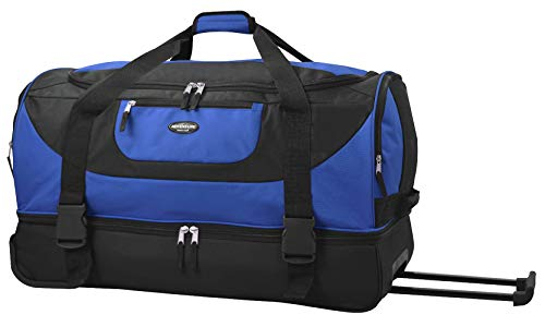 Travelers Club 30' ADVENTURE Double Compartment Rolling Duffle