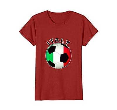 Italian Soccer T Shirt- Camiseta De Futbol Italiano