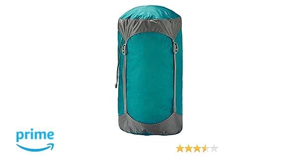 Trekmates Ultralight Compression - Funda de compresión para Saco de Dormir, Color Azul, Talla 8 Liter: Amazon.es: Deportes y aire libre