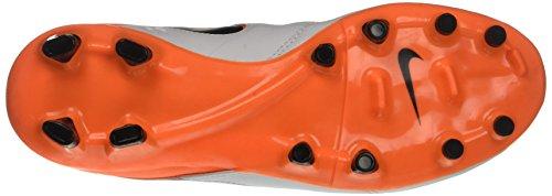 Nike Blanc Total Genio Black Chaussures Fg Orange de II White Homme Running Tiempo UUrSxqa