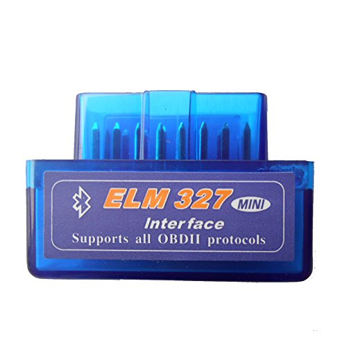 Generic V2.1 Super MINI ELM327 Bluetooth OBD/OBD2 ELM 327 Multi-Language 12Kinds Works ON Android Torque/PC