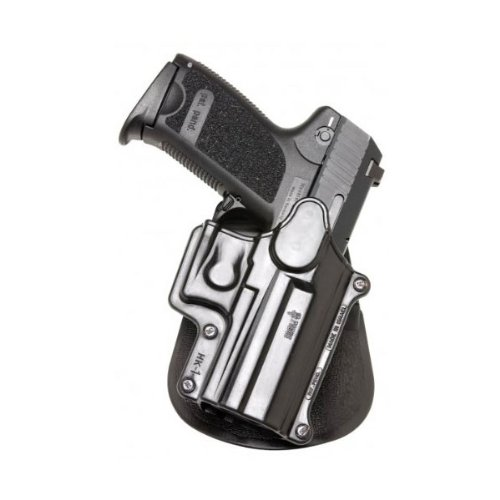 Fobus Paddle Holster Fits H&K Compact/USP 9mm/40/45/Sigma Series/FN49/Ruger SR9, Right Hand, Black (Paddle Holster Ruger)