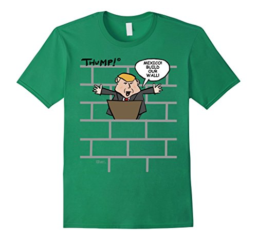 Our Wall! ~ THUMP! Medium Kelly Green (Thump Wall)