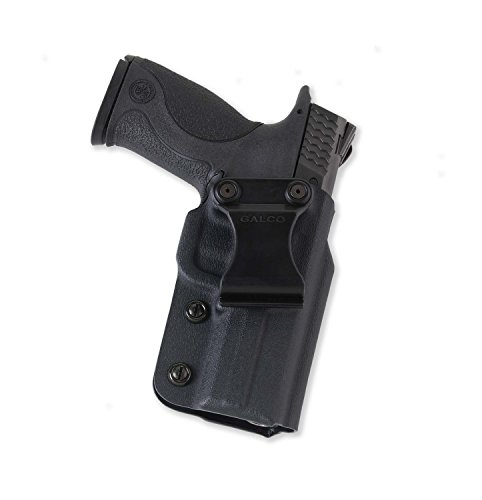 Galco Triton Kydex IWB Holster for Glock 19, 23, 32 (Black, Right-Hand) ()