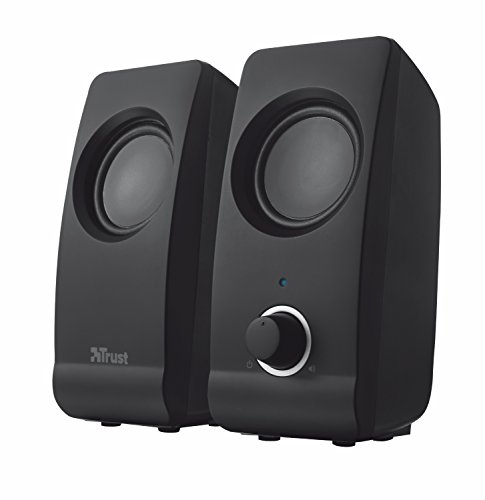 Trust 17595 Remo 2.0 PC Speakers for Computer and Laptop, 16 W, USB...