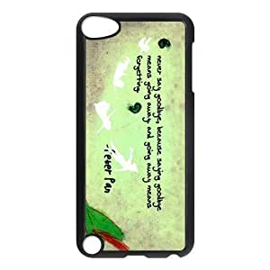 Fashion Peter Pan Ipod Touch 5th Case Cover Personalized Quotes
