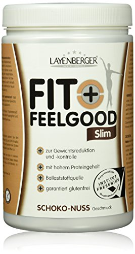 Layenberger Fit+Feelgood Slim Mahlzeitersatz Schoko-Nuss, 1er Pack (1 x 430g)