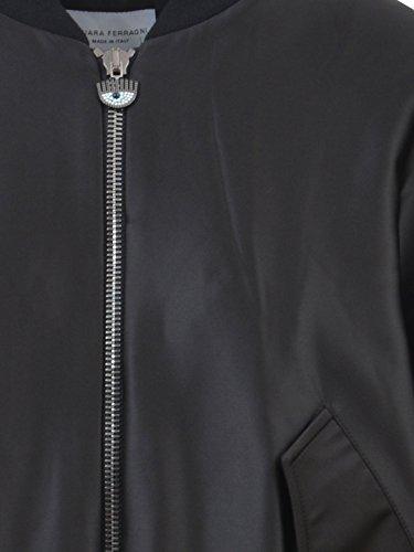 Poliestere Nero Outerwear Donna Chiara Cfj001 Ferragni Giacca HaqPx647