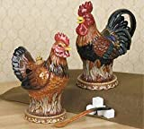 ROOSTER chicken kitchen decor Creamer and & sugar bowl