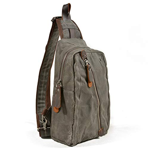 color Toile Casual Green Hommes Green Pour Daypacks Épaule Crossbody Dark Triangle À Femmes Bandoulière Dos Sac Weatly Packs ROw6A1qa