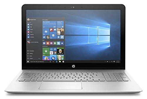 "ENVY 15.6"" Laptop, Intel Core i7-7500U, 12GB RAM, 256GB SSD, Windows 10, Silver - HP 15-AS120NR"