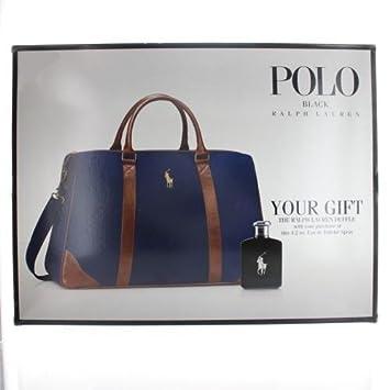 5f327c8f1691 Amazon.com   RALPH LAUREN Polo Double Black By Ralph Lauren 2 Piece Gift  Set - 4.2 Oz Eau De Toilette Spray