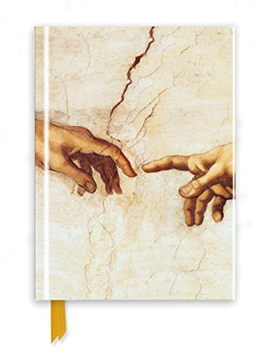 Michelangelo: Creation Hands (Foiled Journal) (Flame Tree Notebooks)