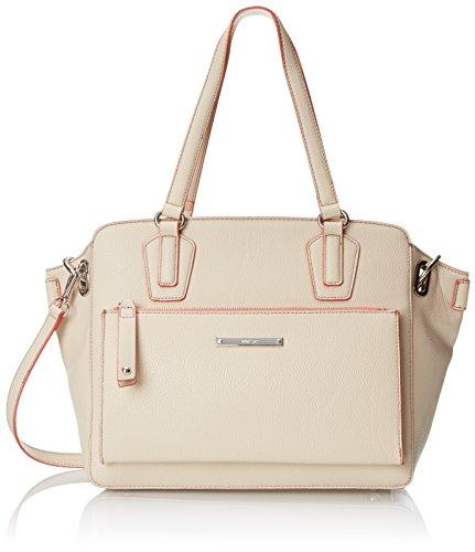 Nine West Zip N Go Tote Shoulder Bag, Toasted Oat, One Size