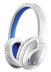 Philips SHB7000WT/28 Bluetooth Stereo Headset, White (Discontinued by Manufacturer)