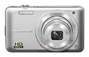 """Olympus VG-160 - Cámara compacta de 14 Mp (pantalla de 3"""", zoom óptico 5x, estabilizador de imagen electrónico, vídeo HD 720p) color plata"""