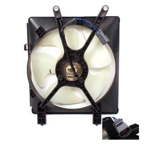 CarPartsDepot, AC Condenser Cooling Fan With Motor + Blade + Shroud, 426-20100 HO3113114 DPI# 20100
