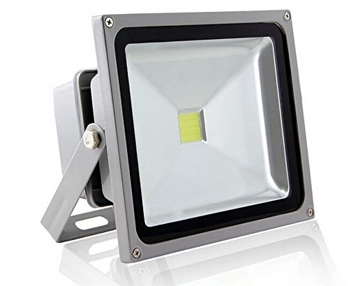 iLampens 30w Outdoor LED Flood Lights Cool White Security Light, Waterproof Floodlight Lamp 2250lm 220w
