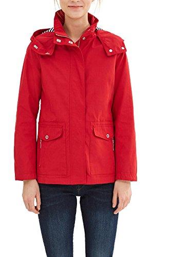 ESPRIT 037ee1g007, Chaqueta para Mujer Rojo (Red)