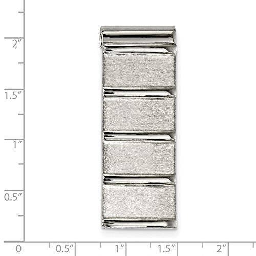 52 Money Steel Polished x 2mm Stainless 19 6mm Brushed Clip 8dqawtw