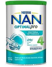 Nestlé Baby & Me Fórmula de Crecimiento Nan 4 Optipro, de 2 Años en Adelante, 1 Lata de 1.2Kg, 1.2 Kilogramos