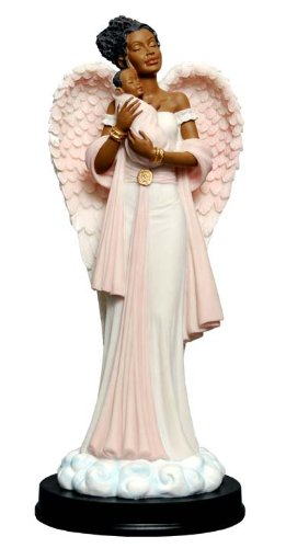 (Angel in Pink with Baby (Graceful Angels))