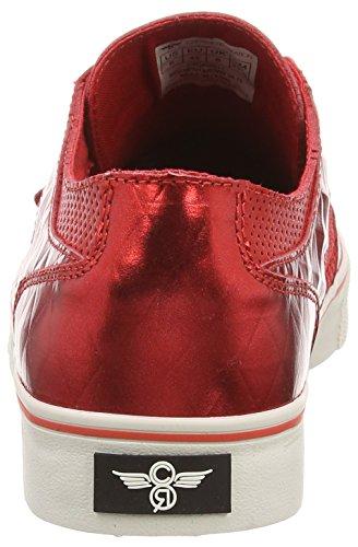 Creative Recreation Cesario Lo Xvi - zapatillas de sintético hombre rojo - Red (Red Mesh/Brown Diamond)