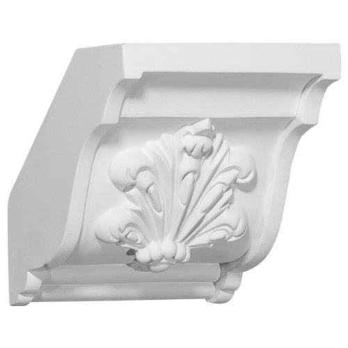 (Ekena Millwork MDB04X04  4 5/8-Inch P x 4 3/4-Inch H Coupling for Molding Profiles)