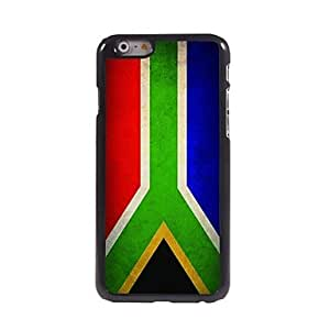 HaleyL-Vintage The Flag of South Africa Pattern Aluminum Hard Case for iPhone 6 Plus