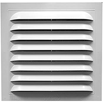 Duraflo 626043 00 12 Inch Square Gable Vent White