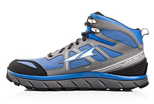Altra Lone Peak 3.0 Mid Neoshell Trail Running Shoe - Men's Electric Blue, 10.0