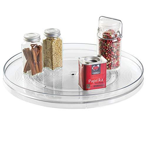 iDesign Linus Turntable Kitchen, Organization for Pantry, Countertop, Shelf, Table, Vanity, Bathroom, 14