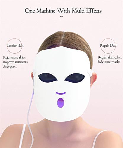108 Lichter Photon Facial LED-Maske Therapie Farben Licht Hautverjüngung Faltenreduktion Akne Entfernung Led Schönheit Lampen Gesicht