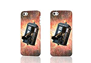 HD Image Tardis Outer Space Doctor Who 3D Rough Case Skin, fashion design image custom , durable hard 3D case cover for iPhone 5C , Case New Design By Codystore wangjiang maoyi