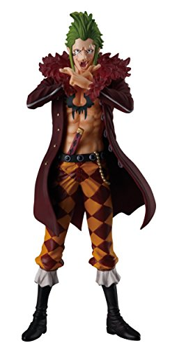 Shokugan One Piece 5.1-Inch Bartolomeo Figure, Super One Piece Styling, Trigger of the Day Blind Box (Styles May Vary)