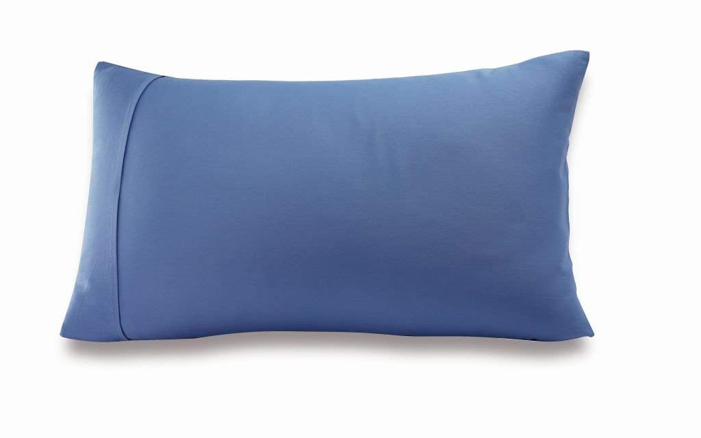 Greenbuds Organic Cotton Kids Pillow Cover (Blue) by Greenbuds