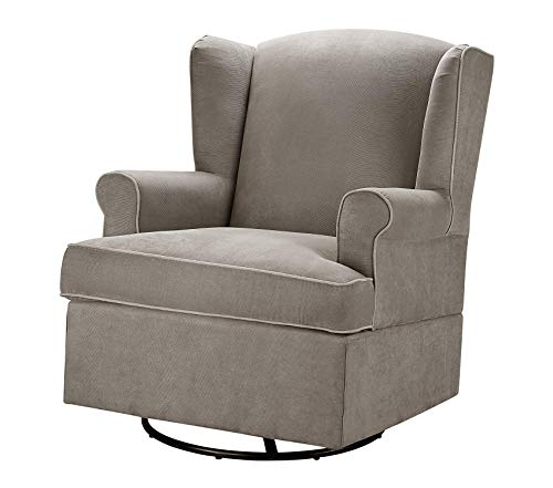 Bаby Rеlаx Office Home Furniture Premium Relax Swivel Glider, Dark Taupe ()