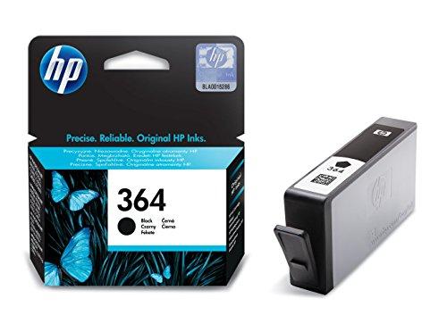 HP 364 Schwarz Original Druckerpatrone für HP Deskjet, HP Officejet, HP Photosmart