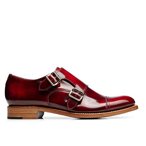 Double Colin Office The Mr Angela Scott of Red Scarlett Monkstrap Xgnqx0qadR