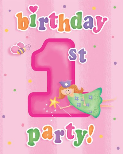 amazon com 8 count party invitations fun at one happy first