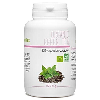 Organic Green Tea 270mg - 200 Vegetarian Capsules