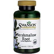 Swanson Marshmallow Root 500 Milligrams 90 Capsules