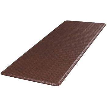 GelPro Classic Anti Fatigue Kitchen Comfort Chef Floor Mat, 20x48u201d,  Basketweave Truffle