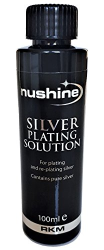 Replate Silver Costumes Jewelry - Nushine Silver Plating Solution 3.4 Oz