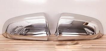 Alfarom - Embellecedor de espejo retrovisor (acero inoxidable)