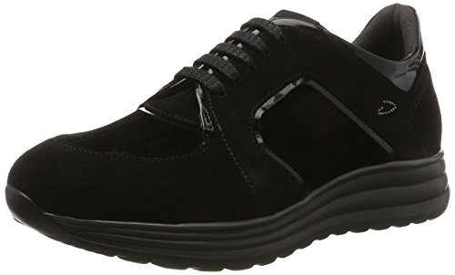 Alberto Guardiani Women SD59431C/-N/SU Low Trainers Black Size: 6 UK