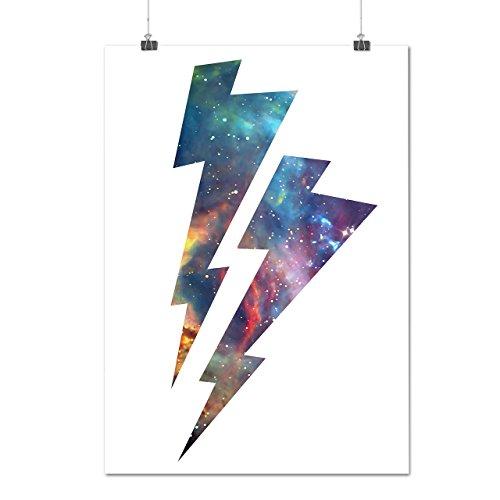 [Lightning Strike Space Cosmos Matte/Glossy Poster A2 (17x24 inches) | Wellcoda] (Lightning Strike Costume)