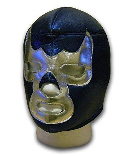 WRESTLING MASKS UK Men's Demon Mexican Lucha Libre Wrestling Mask One Size Multicoloured
